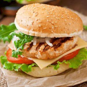 Chicken Breast Burgers